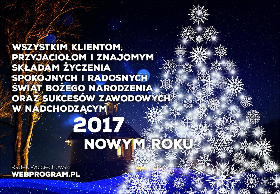 Życzenia Świąteczno Noworoczne