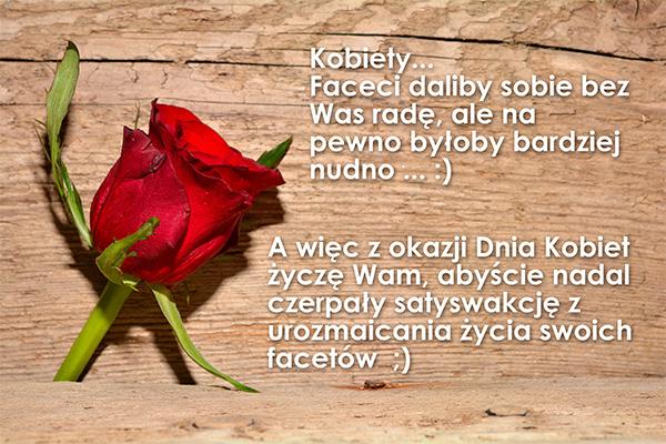 8 marca – Dzień Kobiet