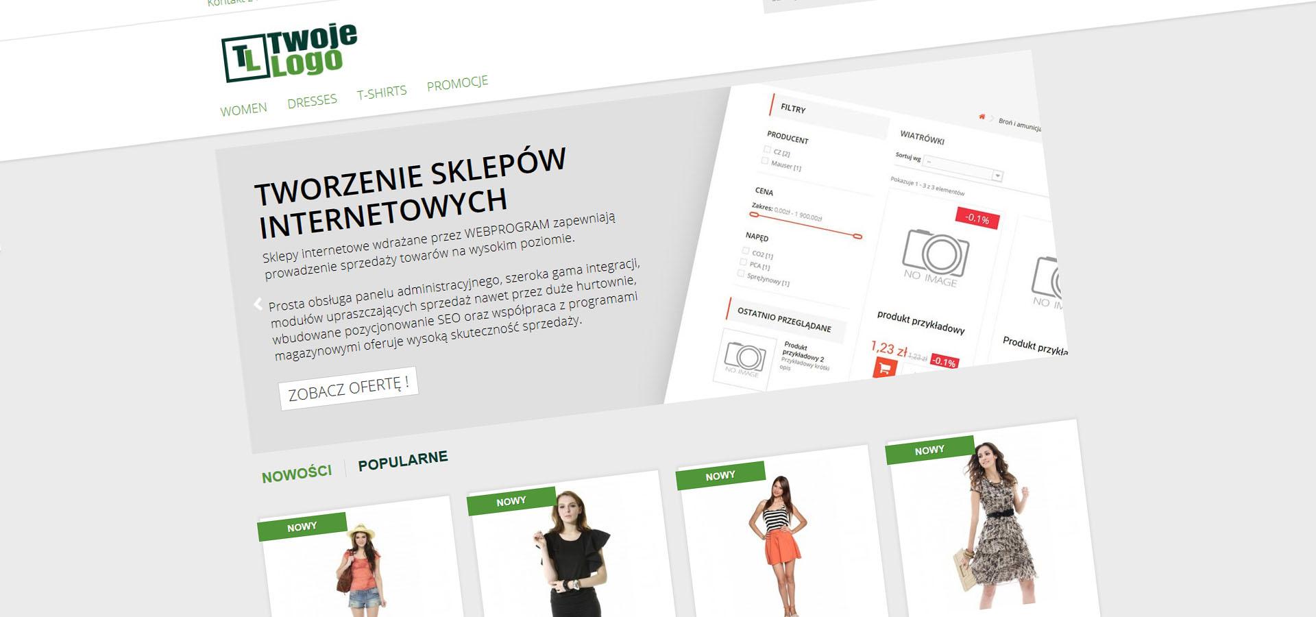 tworzenie sklepów internetowych warszawa poznań konin